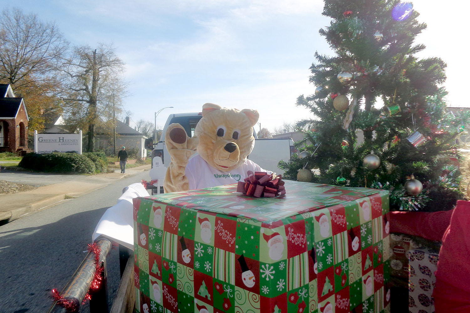 Teddy-with-huge-gift-box-AlwaysMoney-StoreEvents